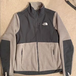 Grey North Face Full Zip Jacket